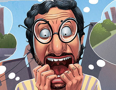 Illustrations for Sab tv