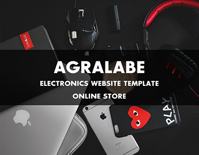 Agralabe-Electronics Website Template | Online Store