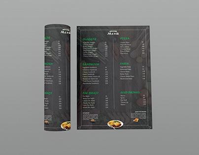 Food MenuFlyer Design