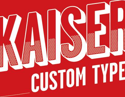 Kaiser beer – Custom Type