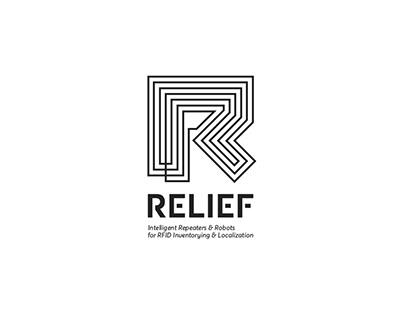 Relief logo design