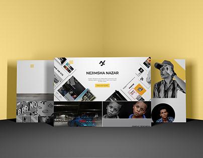 My Portfolio Website Design(Nejimsha Nazar)