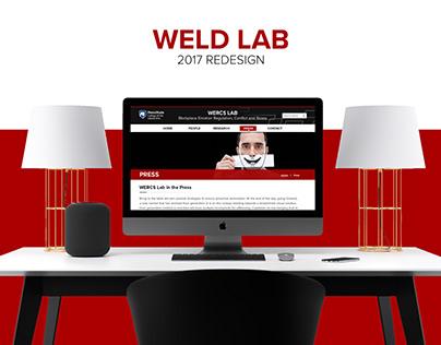WELD Lab Website Design