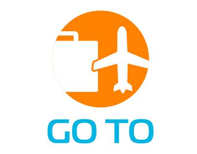 """logo """"GO TO"""""""