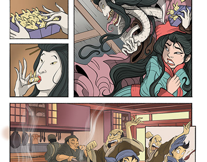 """The Noodle Shop"" Excerpt (7-page Story)"