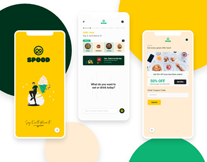 Spood Delivery App
