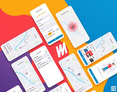 Minimum Taxi | UI/UX