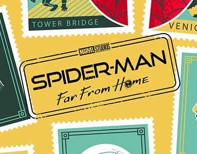 Spider-Man Far From Home Official promo poster