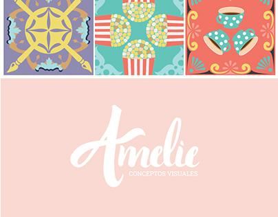 Diseño logo: Amelie Conceptos Visuales