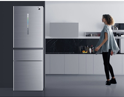 Sharp refrigerator CMF