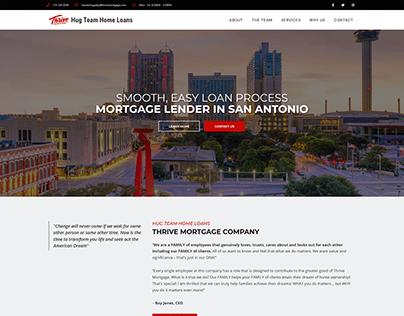 Mortgage Lender WordPress web design