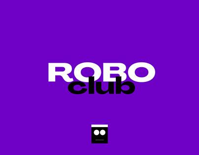 Roboclub. Corporate Identity. UX/UI.