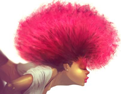 Chelsea's Red Hair