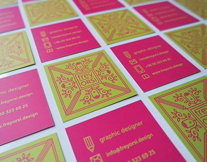 Personal branding / business cards