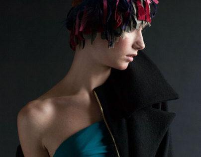 Haute Couture in studio