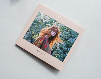 """""""Edith"""" album design"""