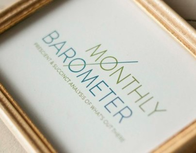 The Monthly Barometer