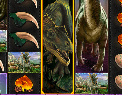 Colossal Dinosaurs mobile casino slot for SciPlay