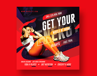 Gym Flyer / Fitness Flyer Template