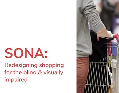 SONA: Shopping Cart for Blind & Visually Impaired