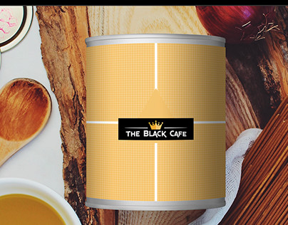 The Black Cafe Logo