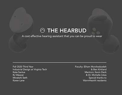 Hearbud-Hearing Aid & Access Concept