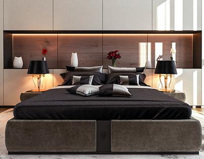 Modern Hotel Room - Milan, Italy
