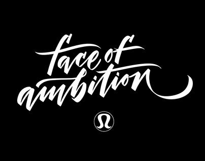 Lululemon 'Face of Ambition' Campaign