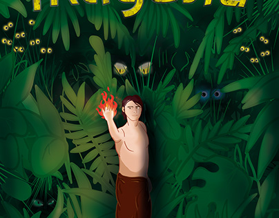 "Playbill of the play ""Mowgli"""