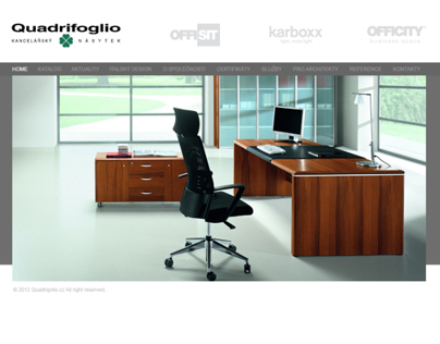 Quadrifoglio.cz Webdesign