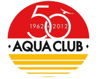 Logo 50 years Aqua club