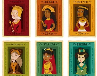 Los Sellos de las reinas