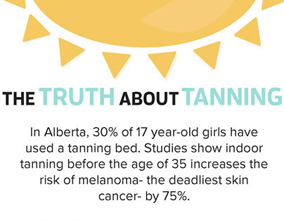 Truth About Tanning Infographic