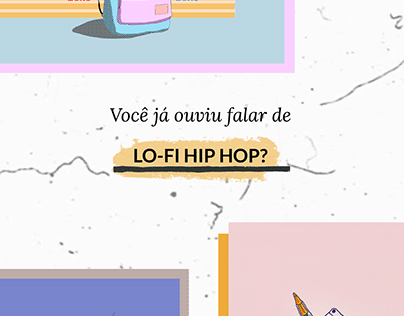 LO-FI HIP HOP: INSTAGRAM STORIES