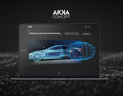 AKKA Website Concept