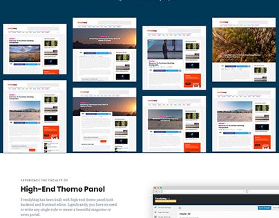 WordPress News Magazine & Blog site