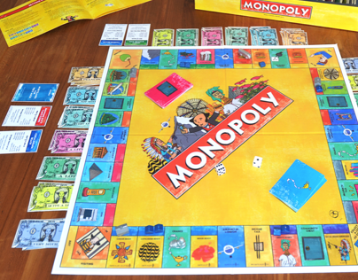 Monopoly - What a Touristic World 2013