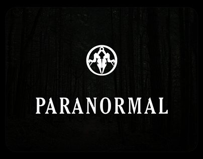 PARANORMAL - branding, book cover & Shop UI/UX
