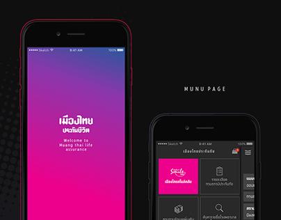 Muang Thai Life App [Black]