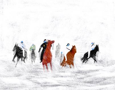 """CORONA"" illustrated moments"