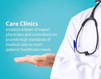 Care Clinics Social Media