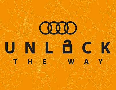 Unlock the way by Audi