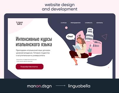 Italian Language school   Website