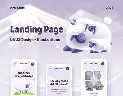 Landing Page + Illustration Design (e-commerce)
