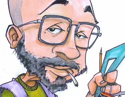 Mr Cometti - illustration