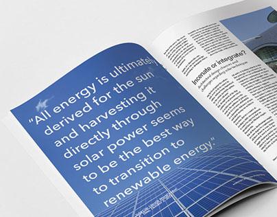 Arkitekt Magazine Layout & Cover