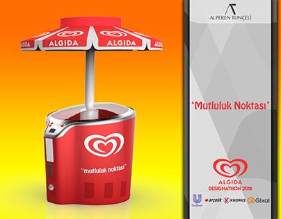 """Algida """"Mutluluk Noktası"""" An Ice-Cream Storage Design"""