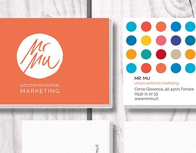 Mr Mu Unconventional Marketing - Logo Design
