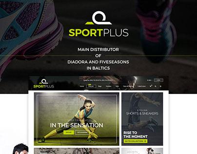 SportPlus - E-Commerce UI/UX Design