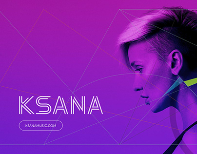 Logo design for the singer Ksana